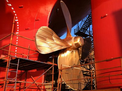 Ship propeller to undergo survey