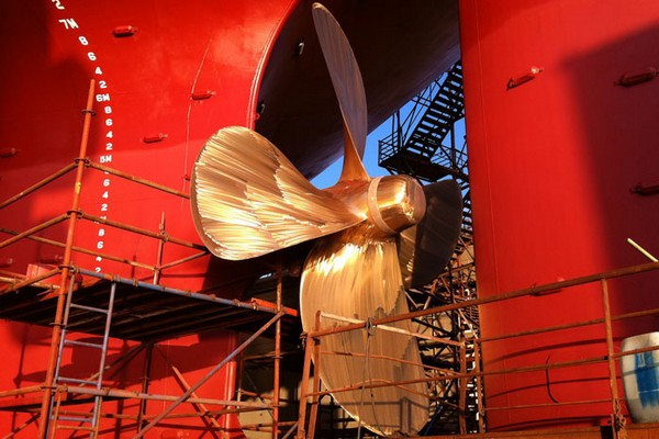 Bulk carrier propeller to undergo survey